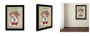 "Trademark Global Jean Plout 'English Bulldog' Canvas Art - 47"" x 35"" x 2"""