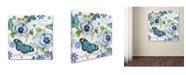 "Trademark Global Jean Plout 'Garden Magic 5' Canvas Art - 24"" x 24"" x 2"""