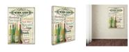 "Trademark Global Jean Plout 'Wine 3' Canvas Art - 19"" x 14"" x 2"""