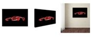 "Trademark Innovations Octavian Mielu 'Ferrari LaFerrari' Canvas Art - 47"" x 30"" x 2"""