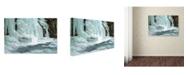 "Trademark Global Mike Jones Photo 'Worlds End' Canvas Art - 19"" x 12"" x 2"""