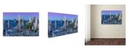 "Trademark Global Mike Jones Photo 'Mono Lake Dusk' Canvas Art - 19"" x 12"" x 2"""