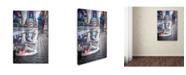 """Trademark Global Moises Levy 'Eyes' Canvas Art - 24"""" x 16"""" x 2"""""""
