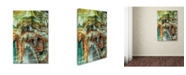 "Trademark Global Natasha Wescoat 'Gate 6' Canvas Art - 24"" x 16"" x 2"""