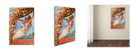 "Trademark Global Vintage Apple Collection 'Paglieri' Canvas Art - 19"" x 12"" x 2"""
