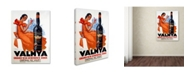 "Trademark Global Vintage Apple Collection 'Valmya' Canvas Art - 24"" x 18"" x 2"""