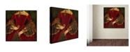 "Trademark Global Vintage Lavoie ' Ad 3' Canvas Art - 24"" x 24"" x 2"""