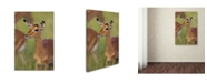 "Trademark Global Robert Harding Picture Library 'Baby Deer' Canvas Art - 19"" x 12"" x 2"""