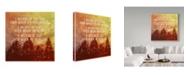 "Trademark Global Vintage Skies 'I Believe Main' Canvas Art - 18"" x 18"" x 2"""