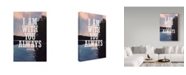 "Trademark Global Vintage Skies 'With You Always' Canvas Art - 24"" x 16"" x 2"""