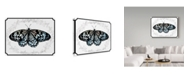"""Trademark Global Sher Sester 'Butterfly and Vines Lydiae Nymphaliide' Canvas Art - 32"""" x 24"""" x 2"""""""