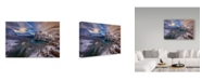 "Trademark Global Michael Zheng 'Lake Ohara' Canvas Art - 47"" x 30"" x 2"""