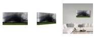 "Trademark Global Nicolas Schumacher 'Gewitterwalze' Canvas Art - 32"" x 2"" x 16"""
