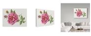 "Trademark Global Janneke Brinkman-Salentijn 'Dark Single Rose' Canvas Art - 24"" x 18"" x 2"""