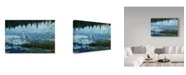 "Trademark Global Jeff Tift 'Blue Reflections' Canvas Art - 24"" x 16"" x 2"""