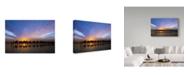 "Trademark Global Renee Doyle 'Sunset Ride' Canvas Art - 47"" x 2"" x 30"""