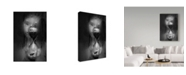 "Trademark Global Mirjam Delrue 'Time Hour Glass' Canvas Art - 30"" x 2"" x 47"""