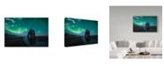 """Trademark Global Javier De La Torre 'Under The Northern Lights' Canvas Art - 19"""" x 2"""" x 12"""""""