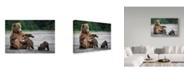 "Trademark Global Renee Doyle 'A Mothers Love Bears' Canvas Art - 47"" x 2"" x 30"""