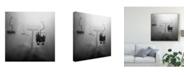 "Trademark Global Wieteke De Kogel 'To Heaven' Canvas Art - 24"" x 2"" x 24"""
