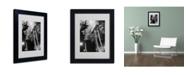 "Trademark Global Moises Levy 'Metro' Matted Framed Art - 14"" x 11"" x 0.5"""