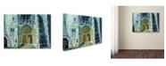 """Trademark Global Richard Wallich 'Chicago 1' Canvas Art - 35"""" x 47"""" x 2"""""""