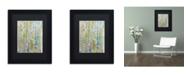 """Trademark Global Sylvie Demers 'Air du Temps 1' Matted Framed Art - 11"""" x 14"""" x 0.5"""""""