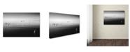 "Trademark Global Moises Levy '11 Herons' Canvas Art - 19"" x 12"" x 2"""