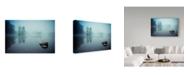 "Trademark Global Robert Adamec 'Laguna Morning' Canvas Art - 47"" x 30"" x 2"""