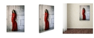 "Trademark Global Constantin Shestopalov 'In Red' Canvas Art - 32"" x 22"" x 2"""