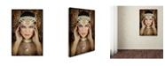 "Trademark Global Ddiarte 'Quelia' Canvas Art - 47"" x 30"" x 2"""