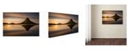 "Trademark Global Wojciech Kruczynski 'Kirkjufell' Canvas Art - 19"" x 12"" x 2"""