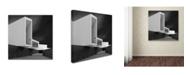 "Trademark Innovations Olavo Azevedo 'White Walls' Canvas Art - 24"" x 24"" x 2"""