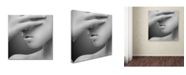 "Trademark Global Widi Hardhanu 'Face' Canvas Art - 35"" x 35"" x 2"""