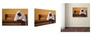 "Trademark Global Wendy 'In Prayer' Canvas Art - 24"" x 16"" x 2"""
