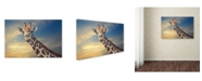 "Trademark Global Piet Flour 'The Friendly Giant' Canvas Art - 32"" x 22"" x 2"""