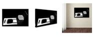 """Trademark Global Sara Le Elbar 'Truth And Fiction' Canvas Art - 24"""" x 16"""" x 2"""""""