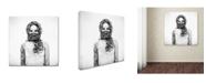 """Trademark Global Nick Van Dijk 'Sophie Jane' Canvas Art - 24"""" x 24"""" x 2"""""""