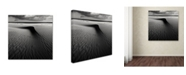 "Trademark Global Wim Schuurmans 'Umbrella On The Beach' Canvas Art - 35"" x 35"" x 2"""
