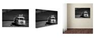 "Trademark Global Yvette Depaepe 'Beached Bus' Canvas Art - 32"" x 22"" x 2"""