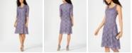 R & M Richards Glitter Lace Dress & Jacket