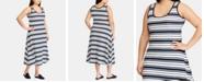 Lauren Ralph Lauren Plus Size Fit & Flare Ponté-Knit Dress