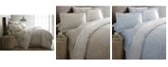 Southshore Fine Linens Boutique Chic Sweetbrier Reversible Cotton Duvet Cover Set, Full/Queen