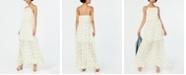 Betsey Johnson Ruffled Floral-Print Maxi Dress