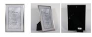 "Lawrence Frames Antique Pewter Picture Frame - Bead Border Design - 8"" x 12"""