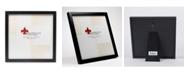 "Lawrence Frames 755588 Black Wood Picture Frame - 8"" x 8"""