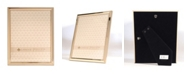 """Lawrence Frames Gold Metal Picture Frame - Classic Bevel - 8"""" x 10"""""""