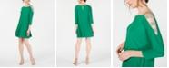 MSK Embellished Cold-Shoulder Shift Dress