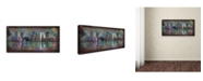 "Trademark Global Ellicia Amando 'Houston' Canvas Art - 10"" x 19"""