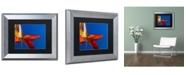 "Trademark Global PIPA Fine Art 'Fall Colors' Matted Framed Art - 11"" x 14"""